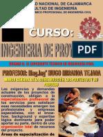 II Unidad - Ingeniería Proyectos UNC