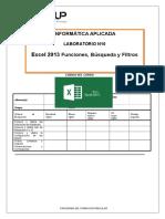Lab 10 Excel