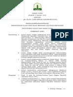Qanun Aceh No. 3 2012 - Bagi Hasil Pajak Aceh Pada Kabupaten - Kota