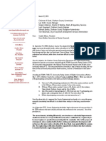 HBA | Flood Ordinance Letter to Al Scott