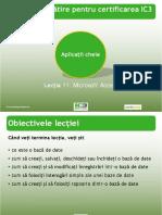 IC3 Lecția 11 - Microsoft Access - Cu Ex.pdf