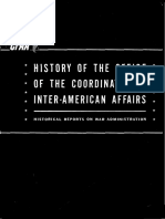Historia de Office of Inter-American Affairs
