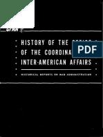 Historia de Office of Inter-American Affairs