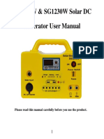 SG1220W & SG1230W User Manual