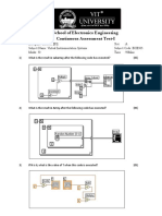 Virtual Instrumentation question paper