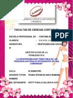 ACTIVIDAD  N° 3 INTERVENCIÓN SOCIAL KETTY PAULA CALLISAYA