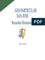 Historia Colegio san jose