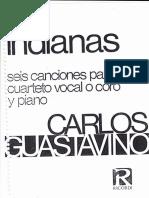 Indianas de Carlos Guastavino