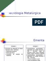 Metalurgia extrativa