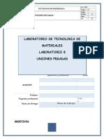 Informe Del Lab 8