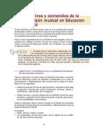 Contenidos y Practicas de La Expresion Musical