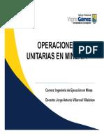 Semana 9, Operaciones Unitarias en Minería.pdf