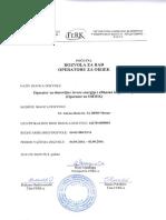 Dozvola PDF