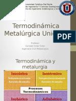 Termodinamica Metalurgica Unidad I