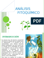 análisis fitoquímico