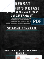 BUERGERS DISEASE HANA.pptx