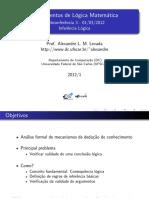 Fundamento Fundamentos Lógica Matemáticas Lógica Matemática_Inferência Lógica e Os Sistemas de Derivação