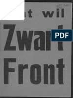 1935 - Meijer, Arnold - Wat Wil Zwart Front