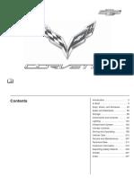 2016 Corvette Stingray Owners Manual