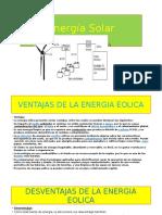 Energia Renovable Ventajas y Desventajas