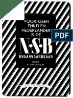 Voor Geen Enkele Nederlander is de N.S.B. Onaanvaardbaar - R. Van Rossum