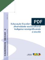 Educação Escolar Indigena_Cadernos SECAD