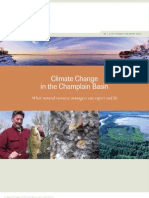 Nature Conservancy - Lake Champlain Climate Report