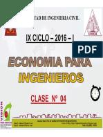 Clase 04 Economia Para Ing 2016 I