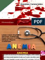 Anemias-Carenciales