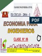 Clase 06 Economía Para Ing 2016 I