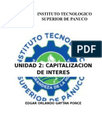 Apuntes Unidad 2 Ingenieria Economica