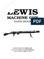 Savage Lewis Machinegun