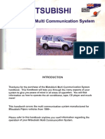 Mitsubishi Multi Communication System Manual in English