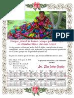 Calendario Elisa Corregido