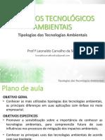 RECURSOS TECNOLÓGICOS AMBIENTAIS