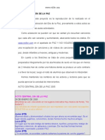 Actos centrales DÍA DE LA PAZ