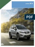 Subaru XV E-Brochure