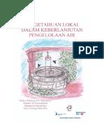 Buku Riset Pengelolaan Air KSI PIKUL 2016 LowRes
