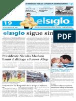 Edición Impresa Elsiglo 19-06-2016
