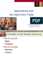 Chapter 03_Interdependence & Gains From Trade