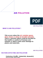 Air Pollution (QA)
