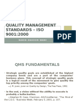 Quality Management Standards – Iso 9001