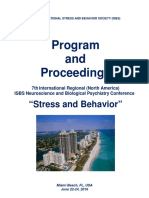 "Program and Proceedings - 7th International Regional ""Stress and Behavior"" Neuroscience and Biopsychiatry Conference (North America), June 22-24, 2016, Miami Beach, FL, USA"