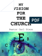 My Vision For The Church