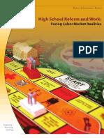High Sch Reform and Work 2006