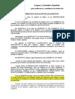 Doc. 18 Lgesp. 2015 Colocación de Los Adjetivos