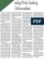 Branchless Banking Perlu Gandeng Perusahaan Telekomunikasi (PERBANKAN, Investor Daily, 26 Februari 2013)