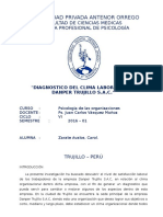 Clima Laboral - Carol Zarate