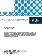 Notice of Dishonor-revised 1