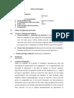 Cuestionario de Salamanda -  Informe